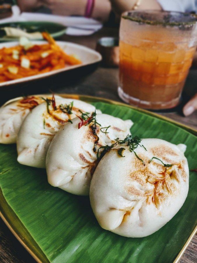 Monkey Bar Kolkata New Menu Ghee Roast Baos