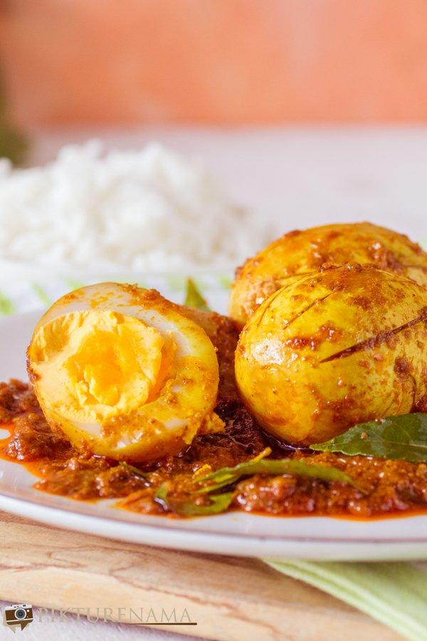 Kerala egg roast