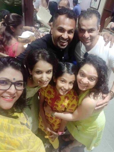 Friends from Mumbai