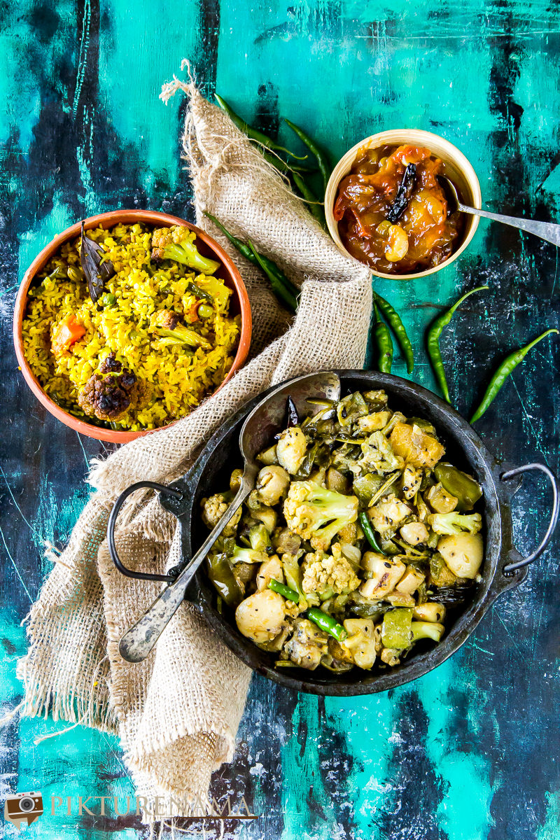Labra bengali Style mixed fried vegetable -2