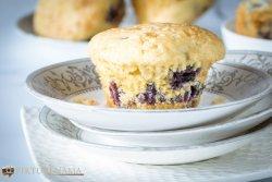 blueberry muffins - 5