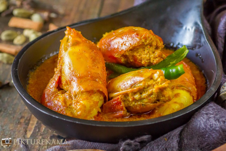 Chingri malaikari or Chingri Malai Curry?