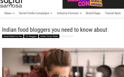 Social Samosa – Indian Food Bloggers you need to know about
