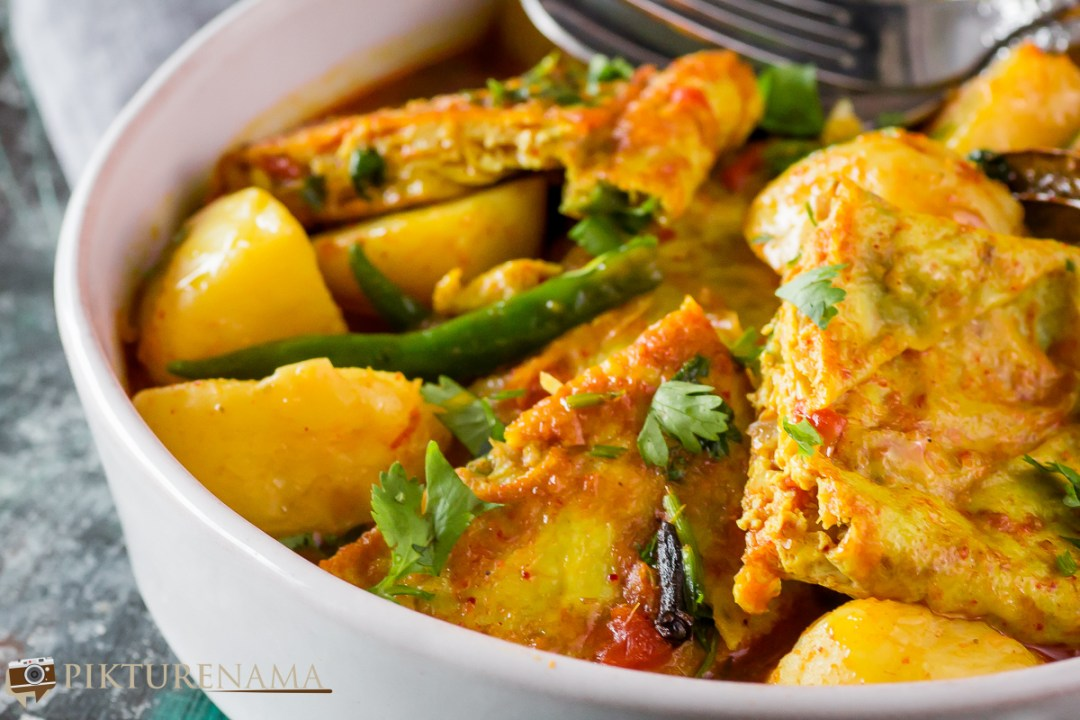 Omelette Curry - 2