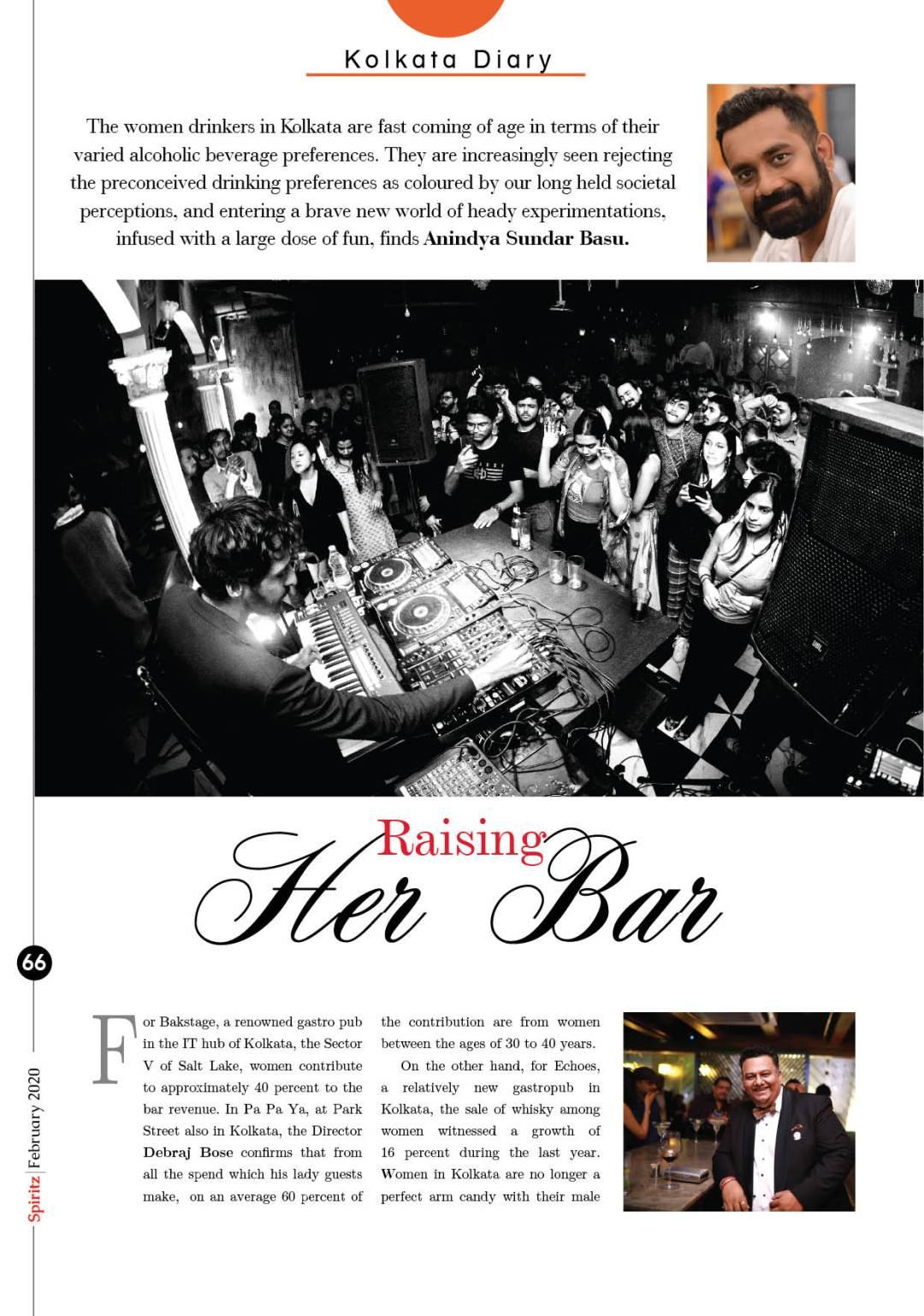 Spiritz- Drinking pattern of Kolkata women - 1