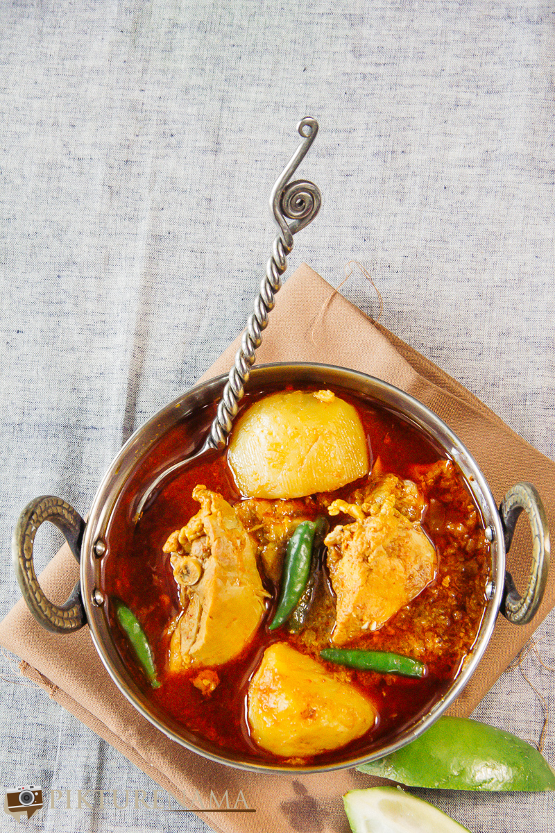 Bangali Robibarer Murgir Jhol or Sunday Bengali CHicken Curry - 1
