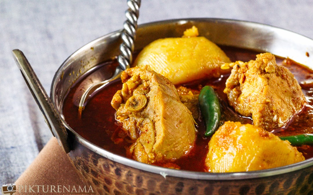 Bangali Robibarer Murgir Jhol or Sunday Bengali CHicken Curry - 3