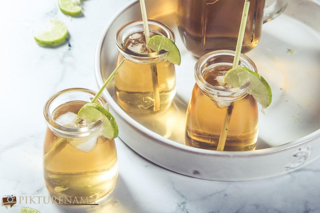 Lemongrass iced tea - 1