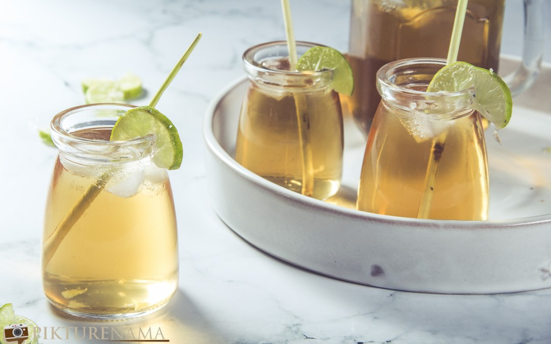Lemongrass Iced Tea with Ginger and the journey of thirst quenchers