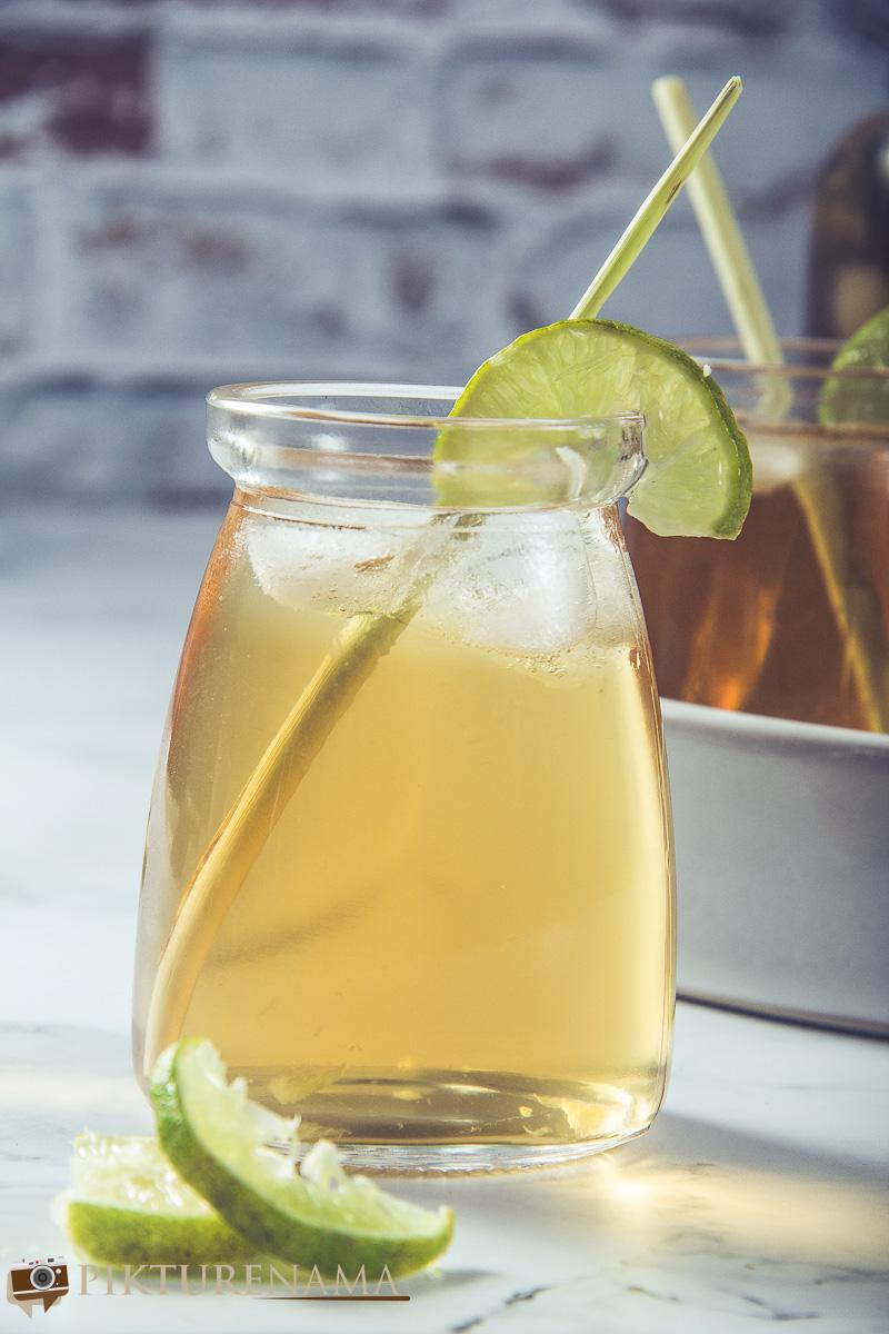 Lemongrass iced tea -4