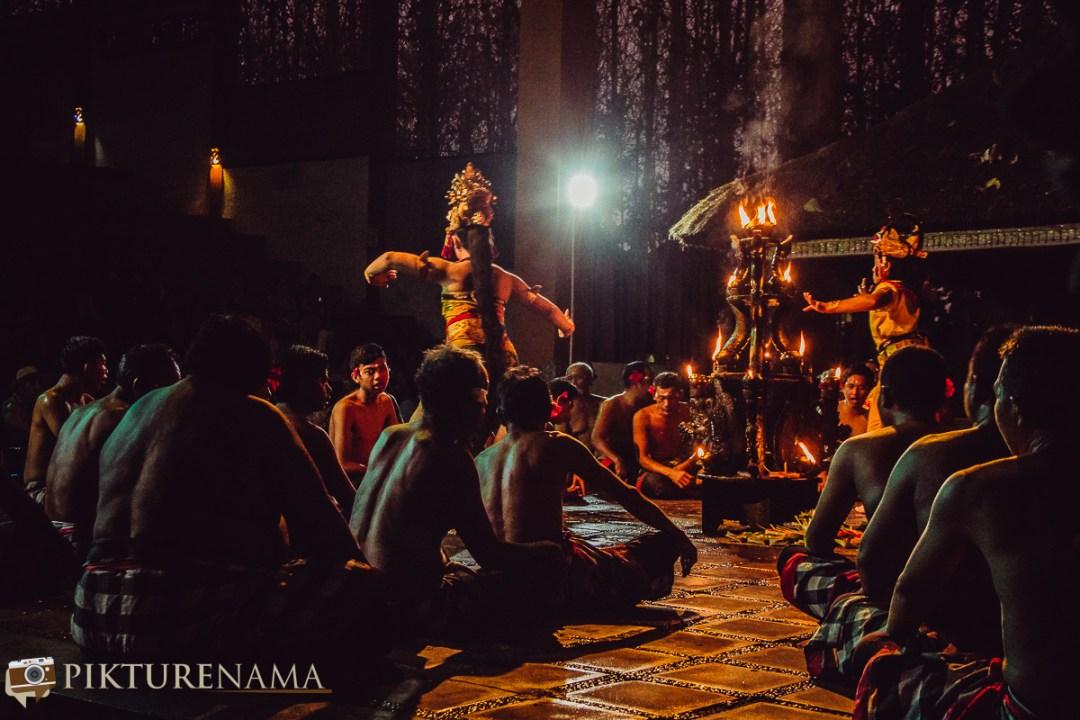 Kecak dance at Batubulan - 11