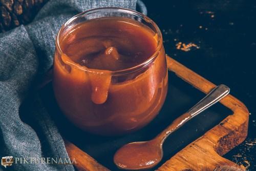 Easy way of making Salted caramel Sauce