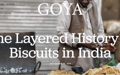 Goya Journal – The layered History of Biscuits in India