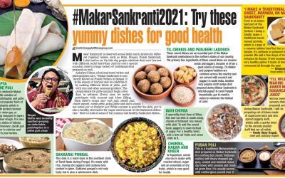 Anindya Sundar Basu on Pithe and Puli for Calcutta Times