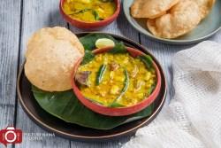 How to make Bengali Cholar Dal - 2