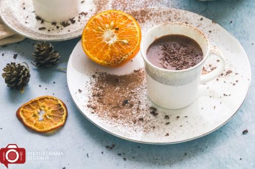 Orange Cinnamon Hot Chocolate - 2