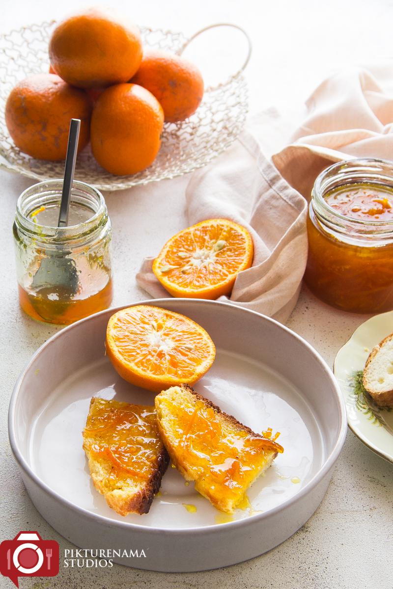 Easy Home made orange mermalade - 3