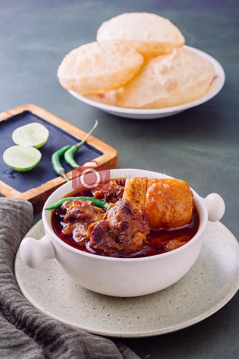 How to make bengali Mangshor Jhol at home - 2