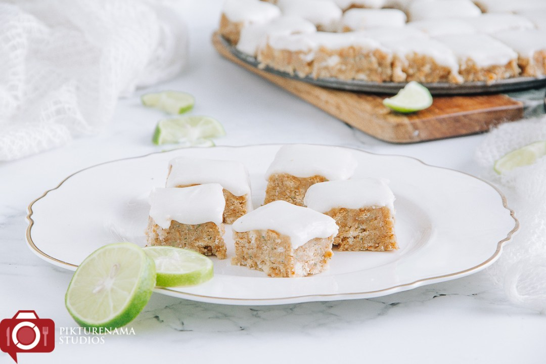 Lemon and Coconut Slice with Aniseed Myrtle - 4