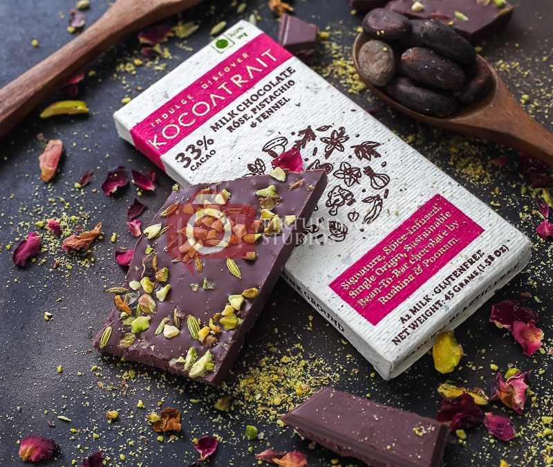 The spice range of choclates from Kocoatrait - 2
