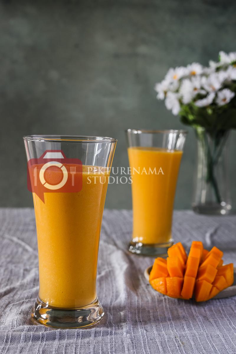 Preparation of Mango Mastani - 1
