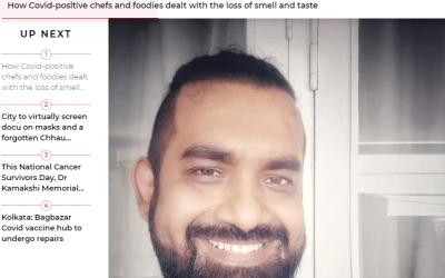 Anindya Sundar Basu on Cal Times on recovery from COVID