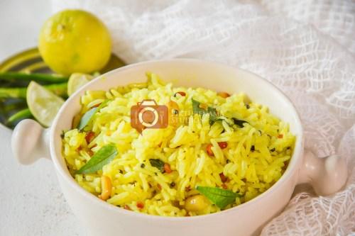 Easy summer recipe lemon rice - 6