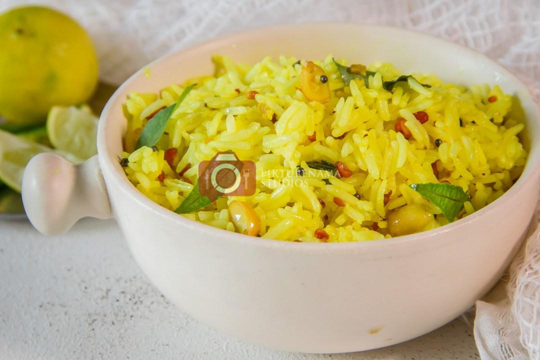 Easy summer recipe lemon rice - 7