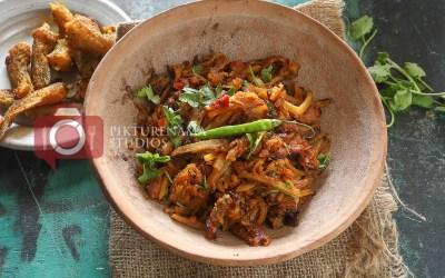 Loitta Macher Jhuri | Bombay Duck Stir-Fry with Potatoes