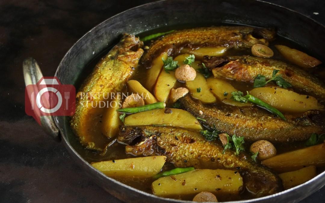 Pabda Macher Jhol | Pabda Macher Alu Ar Bodi Diye Jhol | Pabda Fish Curry