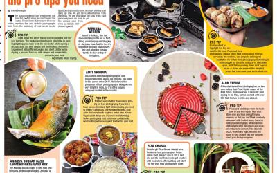 Anindya and Madhushree speak on food photography in Times of India