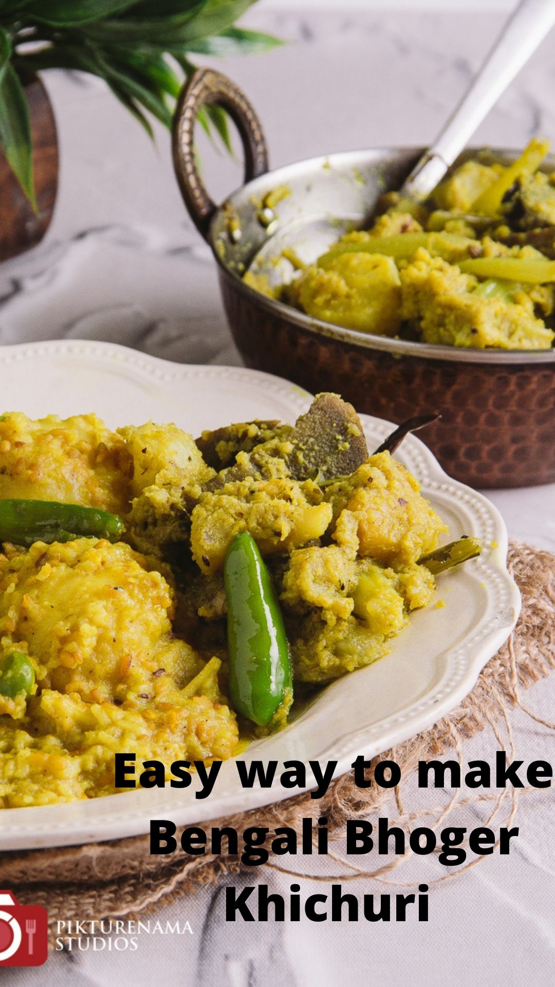 Easy way to make Bengali Bhoger Khichuri - 1