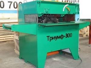 Многопильный одновальный станок Триумф-300