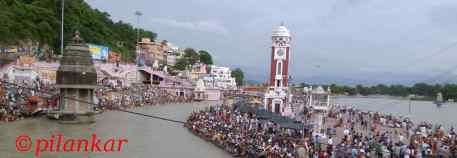Evening at Hari Ki Pauri, Haridwar