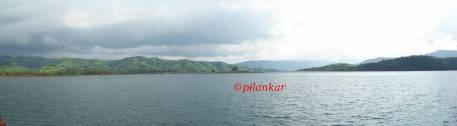 Panoromic View Koyna Dam