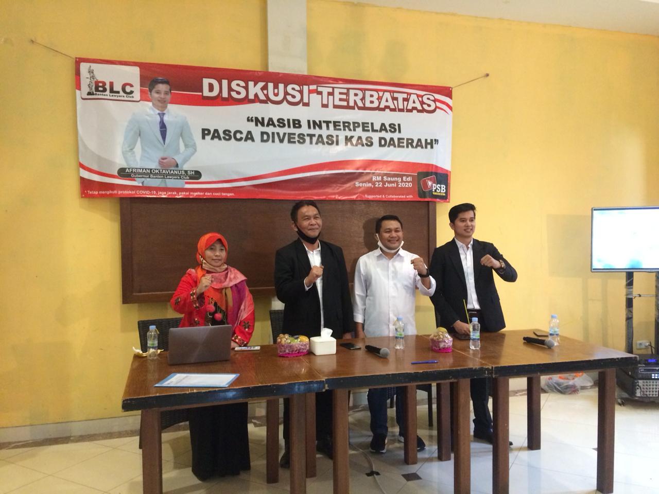 Opsi Konversi Kasda Jadi Modal Bank Banten Sukses Redam Wacana Interpelasi
