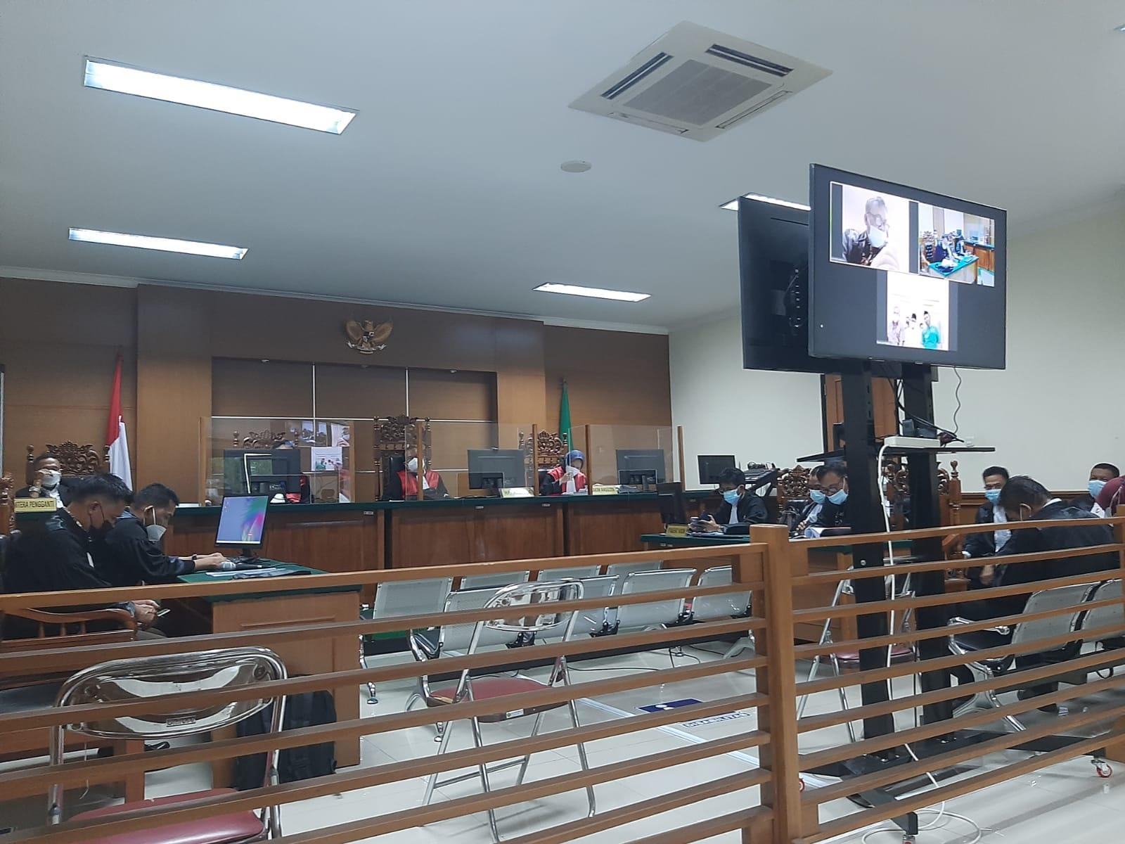 Sidang Eksepsi Terdakwa Korupsi Hibah Ponpes: Minta Seret FSPP