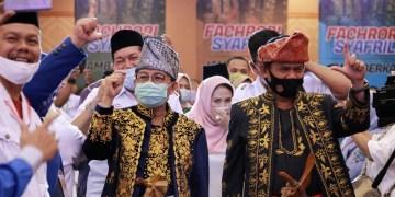Cagub Fachrori Umar-Cawagub Syafril Nursal.