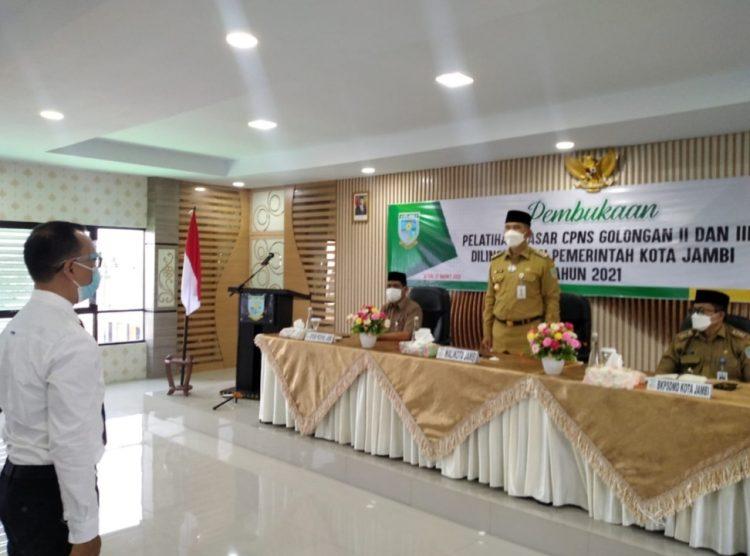 Wali Kota Jambi Syarif Fasha. Foto: IST