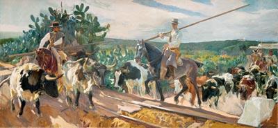 Andalucía, el encierro 1914
