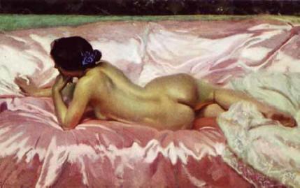 Desnudo de mujer, 1902