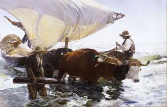 La vuelta de la pesca, 1895