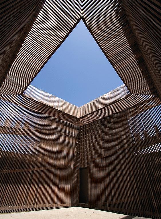 Torre del homenaje en Huéscar (Granada), rehabilitada por Antonio Jimenez Torrecillas.