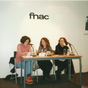 Con Berta Piñán y Consuelo Vega