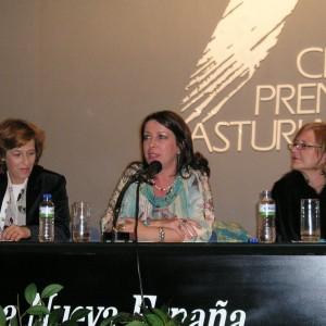 Con Julia Navarro y Mariló Suárez