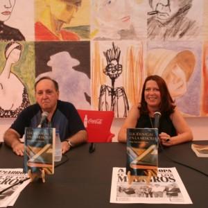 Con Ernesto Mallo en la Semana Negra