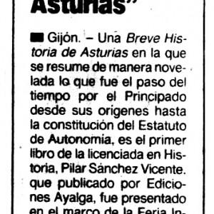 La Voz de Asturias,  16/08/1986