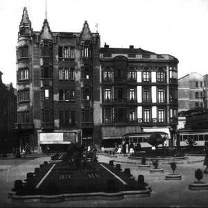Plaza del Intituto - 1950