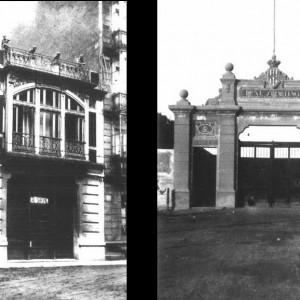 Sede del Club - Puerta del Estadio