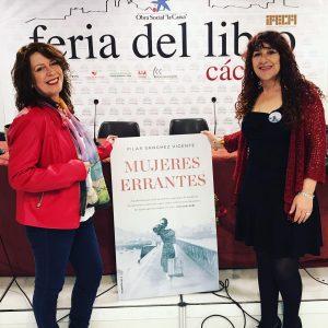 Feria del Libro Cáceres. Con Rosa Perona Timón